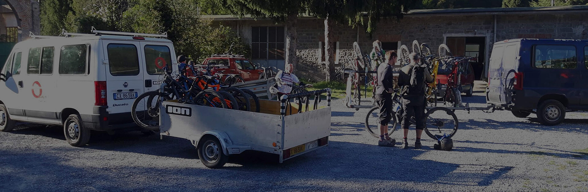 Discover the services of Omnia Freeride bike shuttle