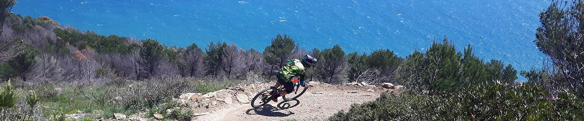 MTB trails with breathtaking views from hills to sea