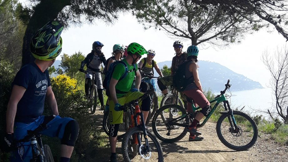 Mountain bike holidays in Liguria
